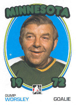 2009-10 ITG 1972 The Year In Hockey #87 Gump Worsley