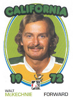 2009-10 ITG 1972 The Year In Hockey #96 Walt McKechnie