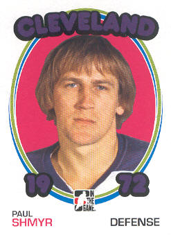 2009-10 ITG 1972 The Year In Hockey #118 Paul Shmyr