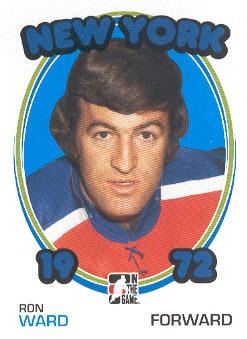 2009-10 ITG 1972 The Year In Hockey #140 Ron Ward