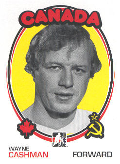 2009-10 ITG 1972 The Year In Hockey #155 Wayne Cashman