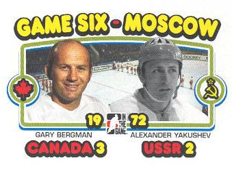 2009-10 ITG 1972 The Year In Hockey #195 Gary Bergman/Alexander Yakushev
