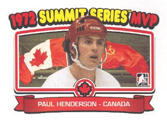 2009-10 ITG 1972 The Year In Hockey #198 Paul Henderson