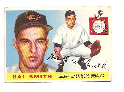1955 Topps #8 Harold Smith RC
