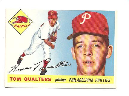 1955 Topps #33 Tom Qualters
