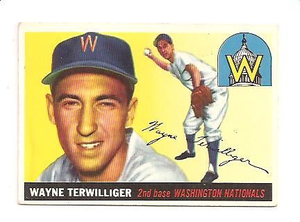 1955 Topps #34 Wayne Terwilliger
