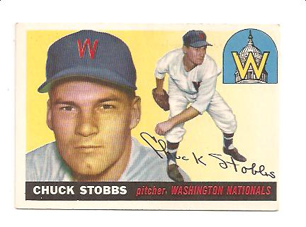 1955 Topps #41 Chuck Stobbs