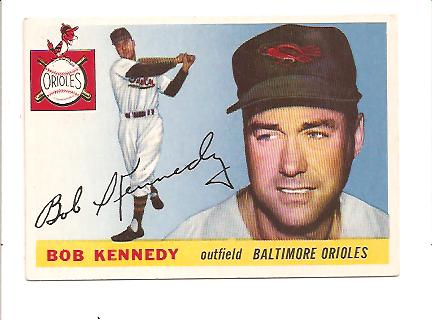1955 Topps #48 Bob Kennedy