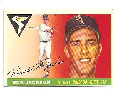 1955 Topps #66 Ron Jackson RC