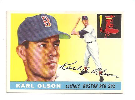 1955 Topps #72 Karl Olson