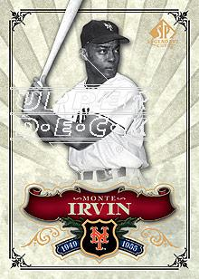 2006 SP Legendary Cuts #2 Monte Irvin