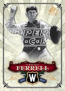 2006 SP Legendary Cuts #8 Rick Ferrell