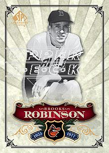 2006 SP Legendary Cuts #19 Brooks Robinson