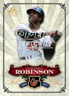 2006 SP Legendary Cuts #22 Frank Robinson