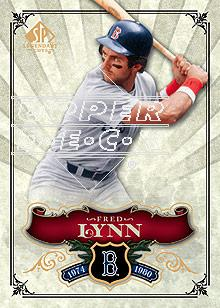 2006 SP Legendary Cuts #27 Fred Lynn