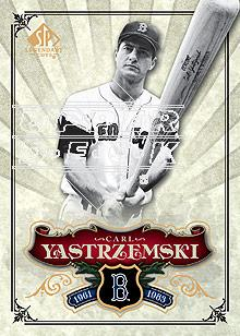 2006 SP Legendary Cuts #35 Carl Yastrzemski