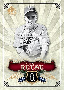 2006 SP Legendary Cuts #38 Pee Wee Reese