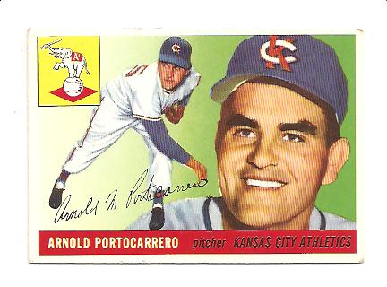 1955 Topps #77 Arnie Portocarrero