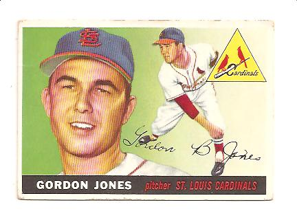 1955 Topps #78 Gordon Jones RC