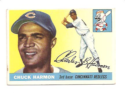 1955 Topps #82 Chuck Harmon