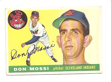 1955 Topps #85 Don Mossi RC