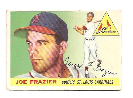 1955 Topps #89 Joe Frazier RC