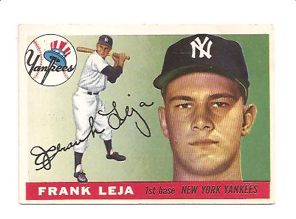 1955 Topps #99 Frank Leja