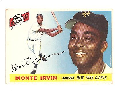1955 Topps #100 Monte Irvin