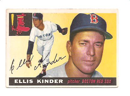 1955 Topps #115 Ellis Kinder