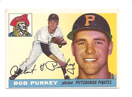1955 Topps #118 Bob Purkey