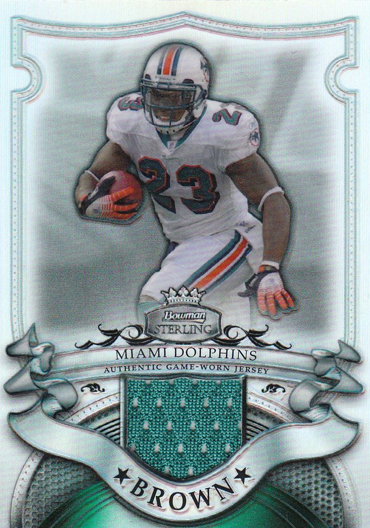2007 Bowman Sterling Refractors #RBR Ronnie Brown JSY