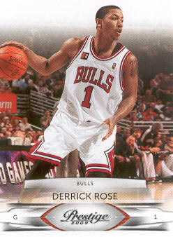 2009-10 Prestige #14 Derrick Rose