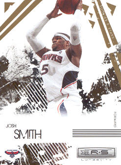 2009-10 Rookies and Stars Longevity #1 Josh Smith