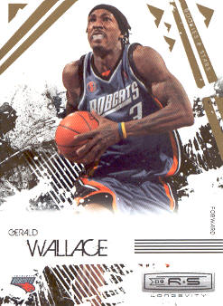 2009-10 Rookies and Stars Longevity #8 Gerald Wallace