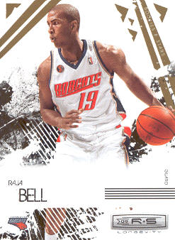 2009-10 Rookies and Stars Longevity #10 Raja Bell