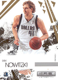 2009-10 Rookies and Stars Longevity #17 Dirk Nowitzki
