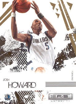2009-10 Rookies and Stars Longevity #18 Josh Howard