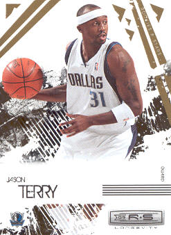 2009-10 Rookies and Stars Longevity #20 Jason Terry