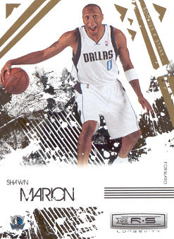 2009-10 Rookies and Stars Longevity #21 Shawn Marion