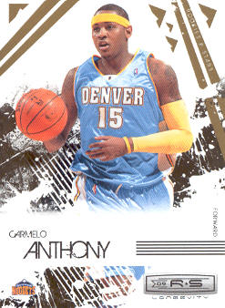 2009-10 Rookies and Stars Longevity #22 Carmelo Anthony