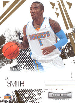2009-10 Rookies and Stars Longevity #24 J.R. Smith