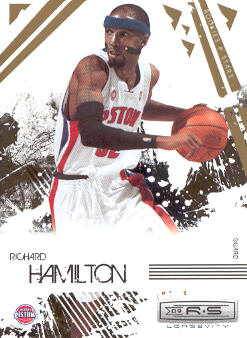 2009-10 Rookies and Stars Longevity #25 Richard Hamilton