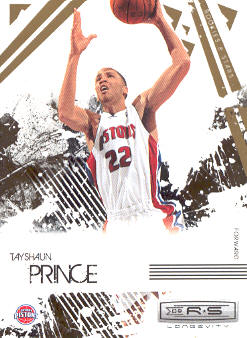 2009-10 Rookies and Stars Longevity #26 Tayshaun Prince