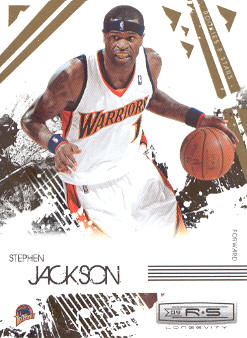 2009-10 Rookies and Stars Longevity #28 Stephen Jackson
