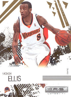 2009-10 Rookies and Stars Longevity #30 Monta Ellis