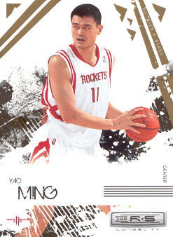 2009-10 Rookies and Stars Longevity #31 Yao Ming