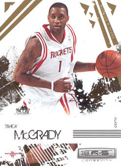 2009-10 Rookies and Stars Longevity #32 Tracy McGrady