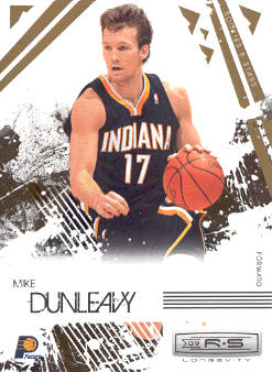 2009-10 Rookies and Stars Longevity #35 Mike Dunleavy