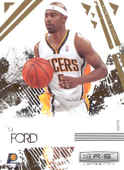 2009-10 Rookies and Stars Longevity #36 T.J. Ford