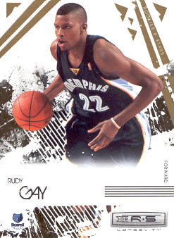 2009-10 Rookies and Stars Longevity #43 Rudy Gay